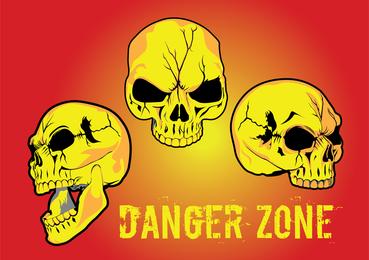 Zona de peligro vector