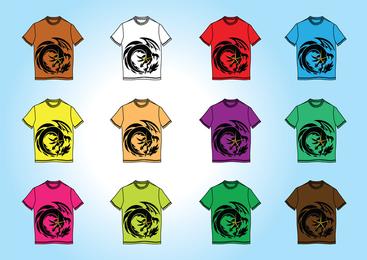 Plantillas de camisetas gratis vectores
