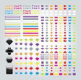 Design de formas de botão