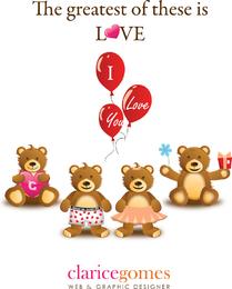 Cute Loving Bears