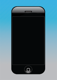 Design de Iphone Vector grátis