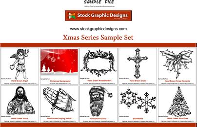Xmas Series Sample Set