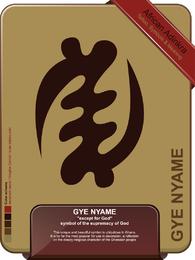 Gye Nyame Excepto Por Dios Tatuaje