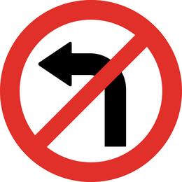 Placa de sinal Vector 411