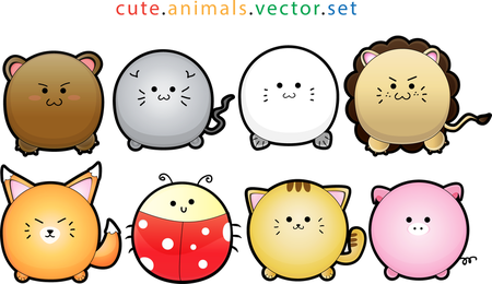 Puffy Cute Animals
