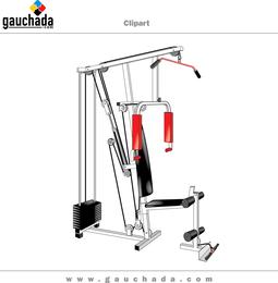 Pump Exercise Machine Vector