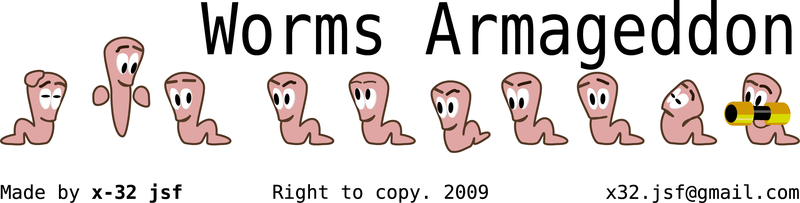 Worms Armageddon character set