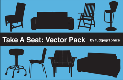 Tome un paquete de vectores de asiento