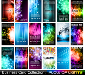 Variety Of Business Card Template 05 Vector
