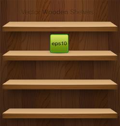 Vector de visualización de espacio en estante