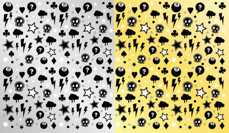 Punk Rock Pattern 2