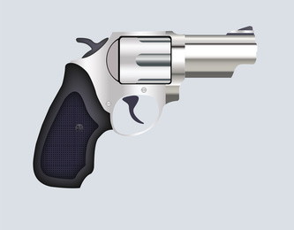 Free Vector Pistol Illustration
