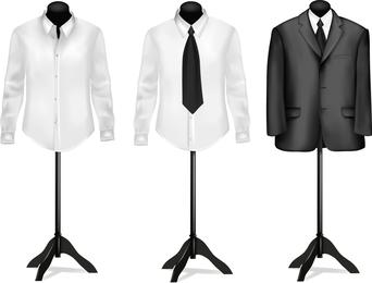 Anzug und Hemd Vektor