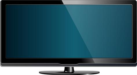 LED TV 02 Vector