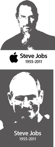 Steve Jobs Steve Jobs Black And White Vector