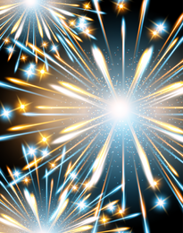 Fireworks Effect 03 Vector