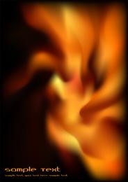 Clipe de vetor linda flama 2