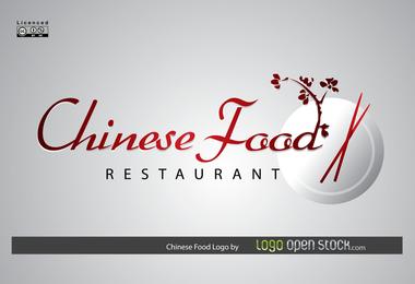 Logotipo de comida chinesa