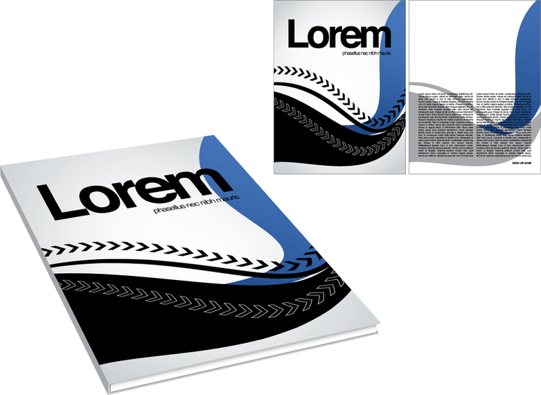 Trend Cover Template 05 Vector