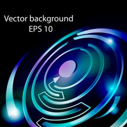 Labirinto colorido 03 Vector