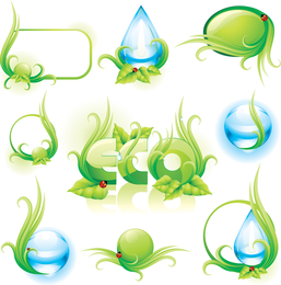 Fine Water Droplets 02 Vector
