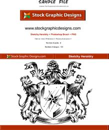 Sketchy Heraldry Crest