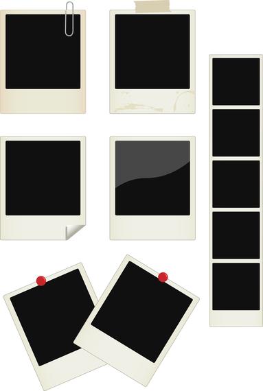 Polaroid Frame Png Digital Scrapbooking