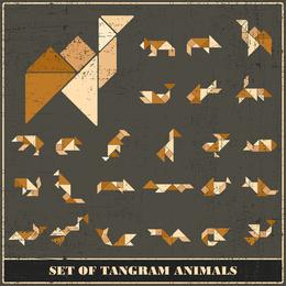 Vetor de Tangram 05