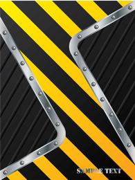 Diseño de la raya de construcción 05 Vector