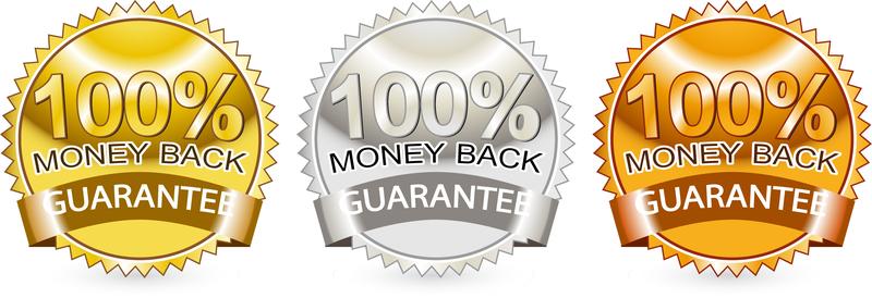 Satisfaction Guarantee Label 04 Vector