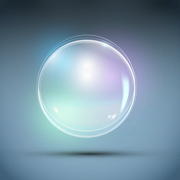 Lindo bolha 04 vector