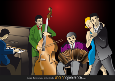 Tango-Tanzmusikorchester