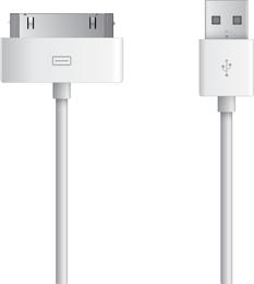 Conector Apple Dock Free Vector
