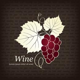 Vetor de ilustrador de vinho tinto