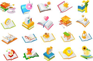 Libros de la serie de vectores de tres