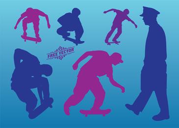 Gráficos de vetor de skate