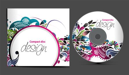 Vetor de empacotamento de 4 CD