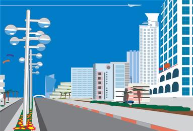 Boulevard-Vektor