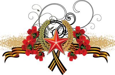 Various Corsage Ribbon Vector
