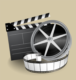 Filmthema Vektor 2