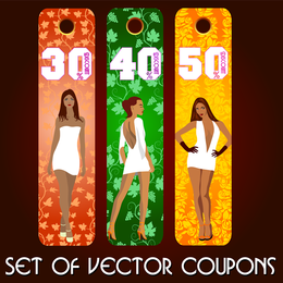 Fashion Label 03 Vector 3