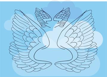 Wings Vector Illustration 2
