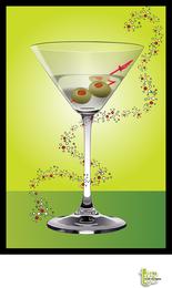 Cóctel de martini