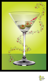 Coquetel de martini