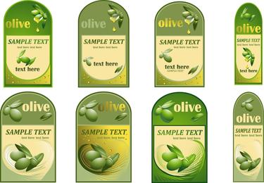 Botella de vector de pasta de aceite de oliva