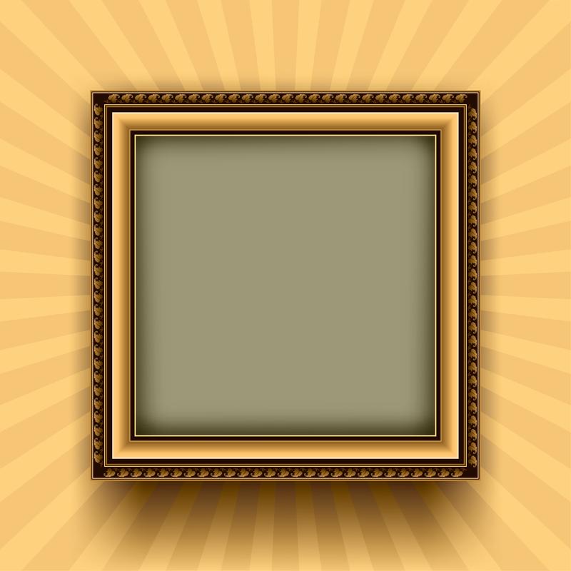 3 Wood Frame Border Clip Art Vector download