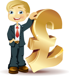 Vector de ilustraciones financieras