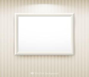 Vector de marco en blanco 1