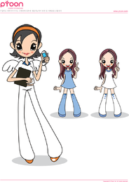 Tel angel vector girl