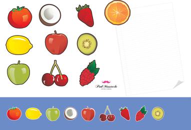 10 Fruit Fridge Magnets